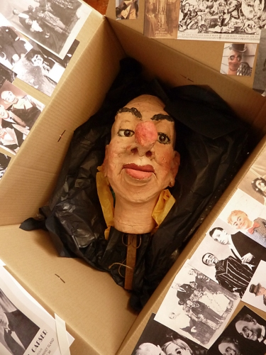 Ally Sloper Head in a Box