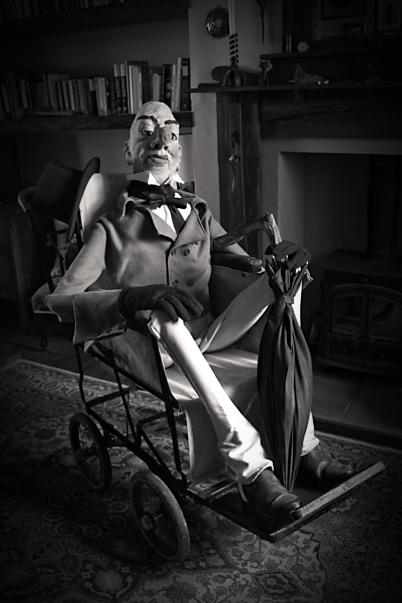 Ally Sloper Vintage Wheelchair