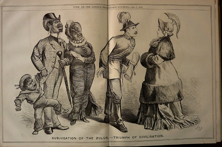 Judy, London Serio-Comic Journal, 1879, Victorian Satire, Racism