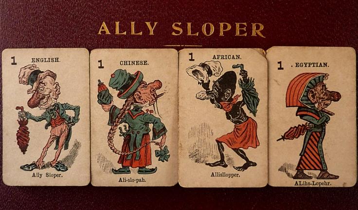 Ally Sloper Card Game