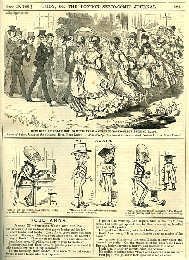 1869-09-29 at it again - ally sloper- judy