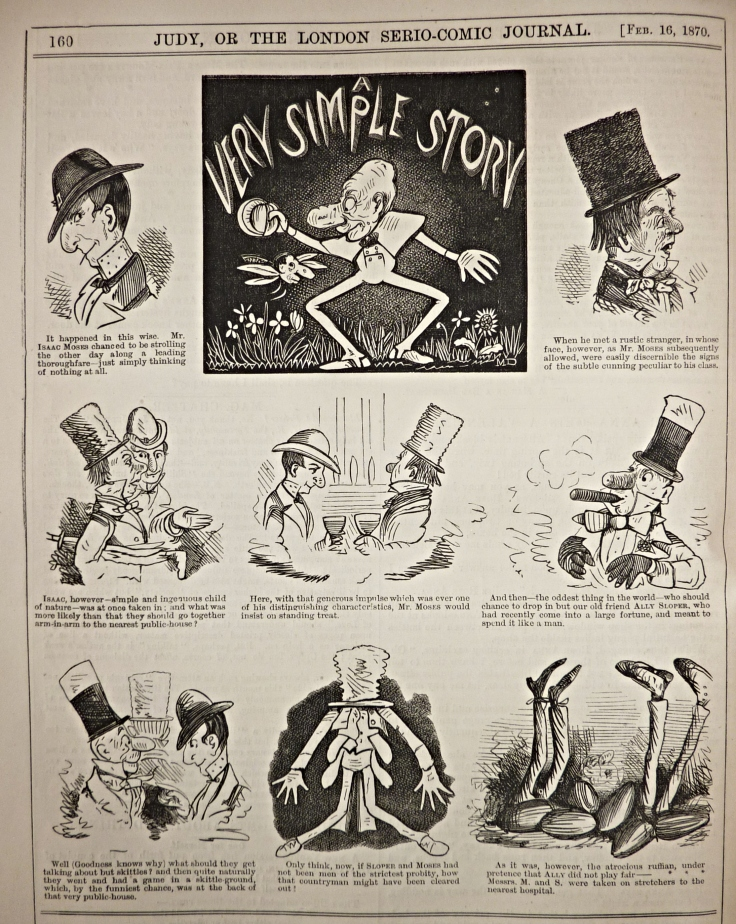 Judy or the london serio-comic journal - 1870 - ally sloper - marie duval