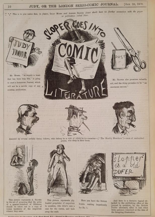 1870-10-26 sloper goes into comic literature - judy